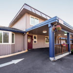 front office exterior entrance at Rodeway Inn Enumclaw